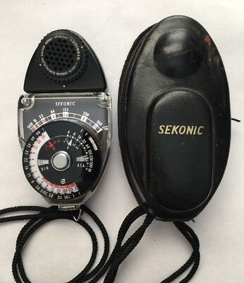 Sekonic Studio Deluxe L-28C2 Light Meter -Clean