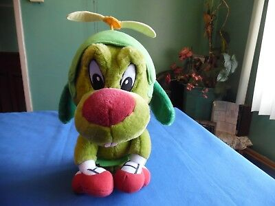 Six Flags Marvin's  Dog Baby K-9 Plush Doll