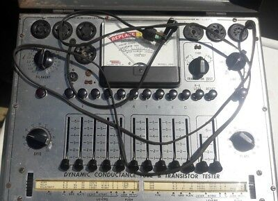 Vintage Eico Model 666 Dynamic Conductance Tube & Transistor Tester