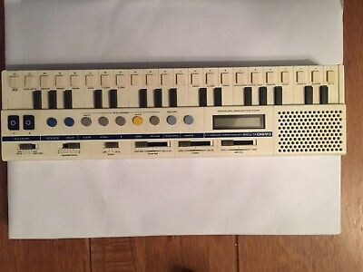 Vintage Casio VL-Tone-VL-1ELECTRONIC KEYBOARD SYNTHESISER CALCULATOR With Case