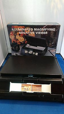 Jobar's Illuminated Magnifying Negative Viewer**free Shipping