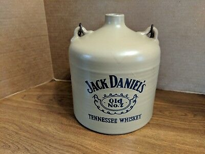 Vintage Jack Daniels Old No. 7 Tennessee Whiskey Handled Jug