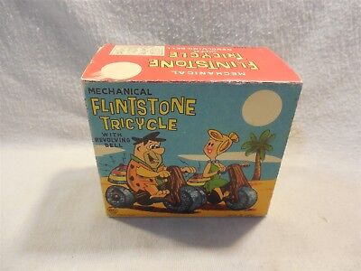 Flintstones Marx Fred Flintstone Tricycle Toy Box Only Reproduction