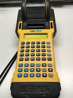 Brady Id Pro Portable Wire  Label Marker Printing System