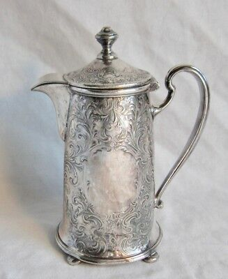 Ornate Reed & Barton Silver Plated Hinged Creamer Or Server