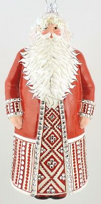 Patricia Breen DAZZLING CLAUS - Red Jewel - Historical Christmas Barn Only