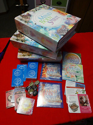 Enhancing Mind Body and Spirit Complete Set with extras CD runes etc