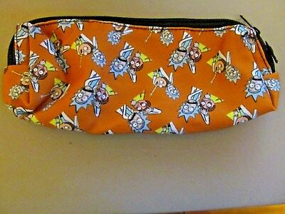 Rick and Morty Canvas, Pencil Case, Cosmetic Bag, Purse (NEW)