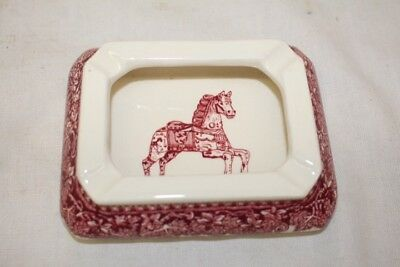Vintage Mason's Ironstone Ashtray for Carl Forslund Grand Rapids Made in England