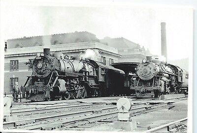 Two Trains @ B. & O. Station in Wheeling, WV - Photograph!