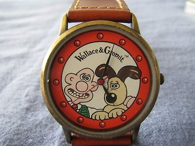 Wallace and Gromit Watch with tin