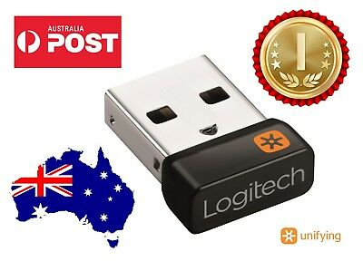 Logitech Unifying Receiver Wireless Usb Bluetooth Mouse & Keyboard Dongle Oz
