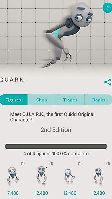 Quidd 1st Edition Sold Out Q.U.A.R.K Set