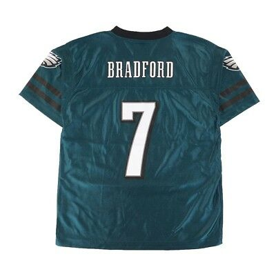 Sam Bradford NFL Philadelphia Eagles Replica Home Teal Jersey Boys Youth Sizes