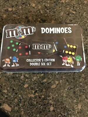 Sealed! M & M's Dominos Collector's Edition Double Six Set