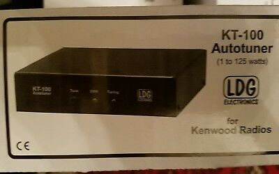 LDG KT-100 Tuner for any Kenwood AT-300 compatible radio
