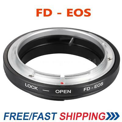 FD-EOS DSLR Lens Adapter Mount Ring Tube for Canon EOS FD to Canon EF EF-S US