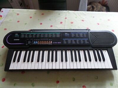 Casio CTK-80 keyboard 48 Tasten