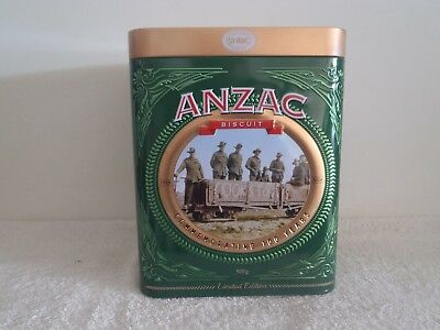 Anzac Biscuit Tin - Cooks Tourists 1918-2018