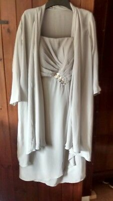 Mother of the Bride Dress and Jacket. Size 10.