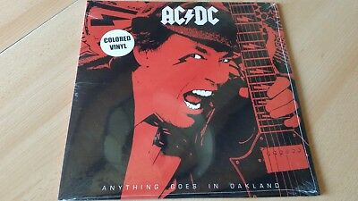 Acdc - Anything Goes In Oakland Colored Vinyl