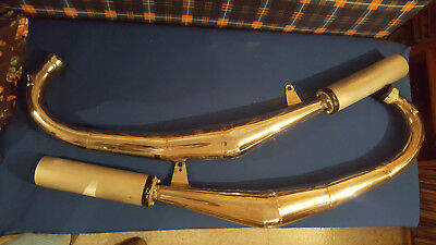 Yamaha rz 350 expansion Chamber Exhaust