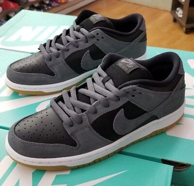 the best attitude 9f401 28881 Nike Sb Dunk Low Trd Ar0778 001 Dark Grey Black-Gum Men Us Sz