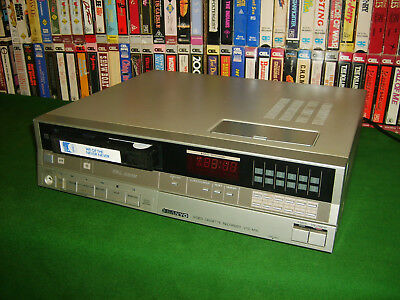 Betamax *sanyo Betacord Vtc M10 Beta Vcr* A1 Condition Ideal 4 Beta To Dvd Copy!