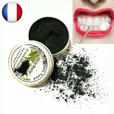 ★★ Blanchiment Dentaire Dents Blanche Charbon Actif Hygiène Buccal Naturel ★★