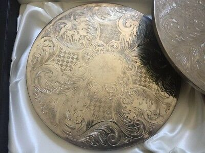 Arthur Price Of England Silver Plated Dinner Placemats.
