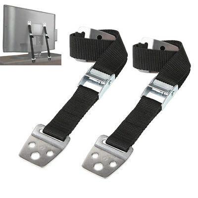 2pcs Anti-tip TV Furniture Positioning Straps Anchor Baby Child Secure Proofing
