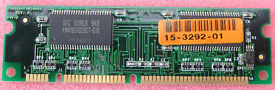 Cisco Router 801 SDRAM DIMM SM532013172F6BA 15-3292-01 PC100 100pin 4MB Single
