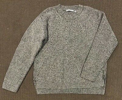 NWOT TRENERY (COUNTRY ROAD) Grey Wool Blend Knit Jumper Size XL/16 $150 NEW
