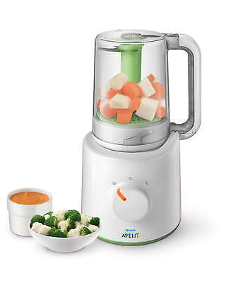 Philips Avent Combined Steamer And Blender 2 In 1 Healthy Baby Food Maker