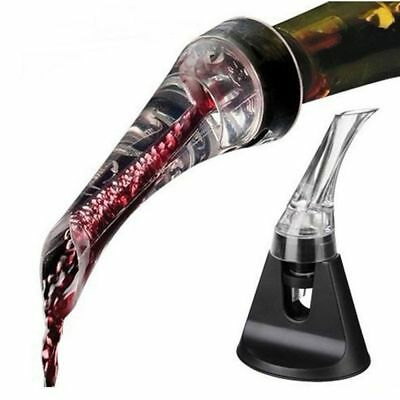 Acrylic Aerating Wine Pourer Decanter Red Wine Bottle Wine Aerator Pourer