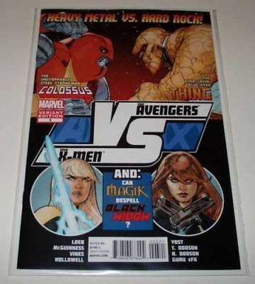 AVENGERS VS X-MEN # 3 Marvel Comic (Aug 2012) NM FIGHT POSTER VARIANT COVER