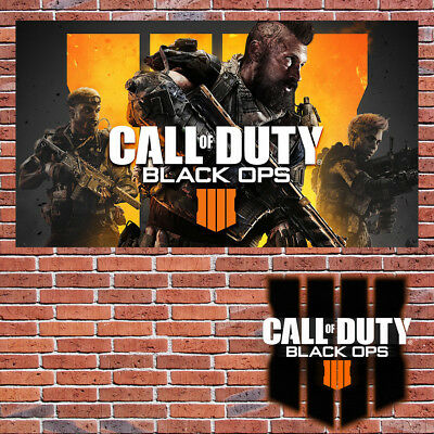 CALL OF DUTY BLACK OPS 4 IV  Game Poster Wall Art Room PS4 Xbox PC  -A6-A2-288