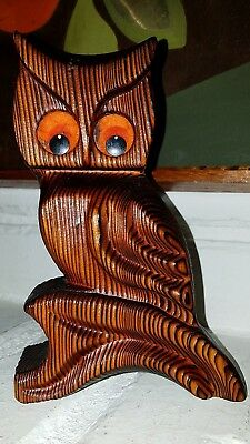 """Vintage Green Mountain Owl  6.5  in X 4 in x 1.25"""""""