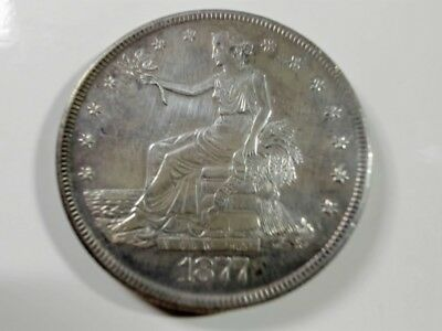 1877-S  Silver Trade Dollar................99  CENT  START...NO  RESERVE
