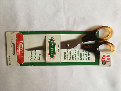 Sullivans embroidery scissors. unused, unopened.