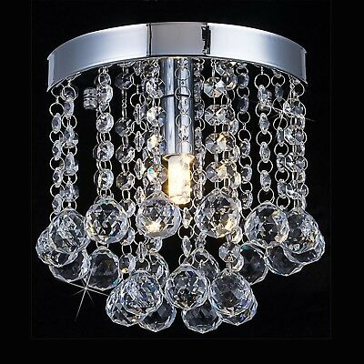 Crystal Chandelier Lighting Small Mini Chandeliers Pendant Ceiling Dining Room
