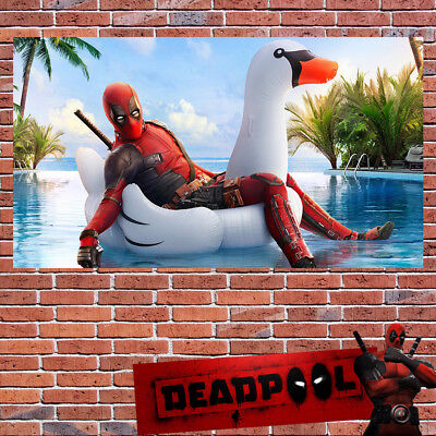 Deadpool 2 Poster Marvel Print Wall Art Hero Action Sizes A2 A3 A4 A6 -292