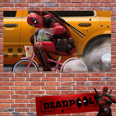 Deadpool 2 Poster Marvel Print Wall Art Hero Action Sizes A2 A3 A4 A6 -293