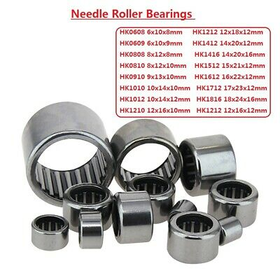 Outer Ring Filling Drawn Cup Needle Roller Bearings Series HK0608-HK1816