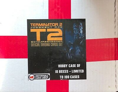 Unstoppable Cards The Terminator 2 Judgement Day Trading Card Case 12 Boxes