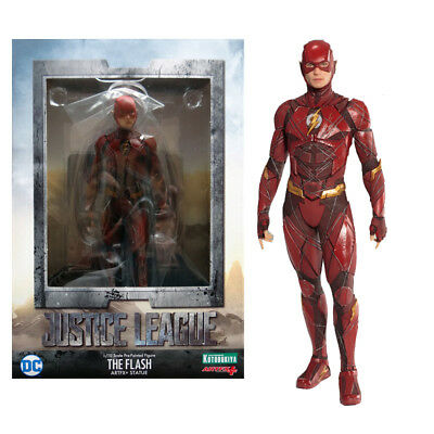 1/10 DC Justice League The Flash Pre-Painted Artfx+ Statue Action Figures KO Toy