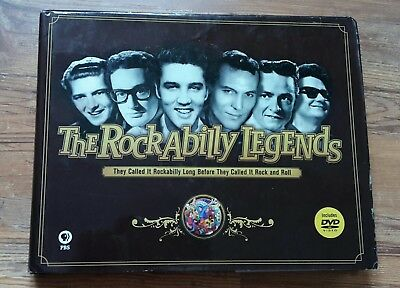 Rockabilly legends vintage 50er 60er Buch Bildband Elvis Haley Holly Orbison