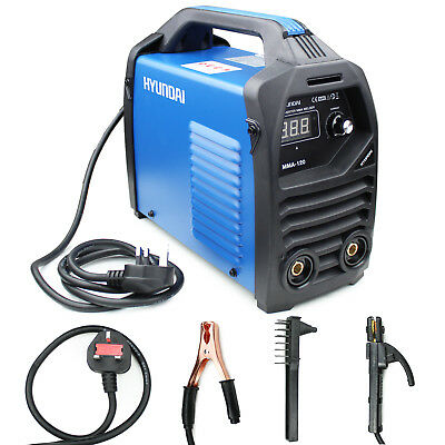 Portable ARC / MMA Welder Inverter HYUNDAI Car Welders 13amp Plug HYMMA-120