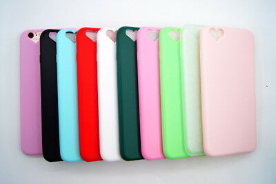 For Apple iPhone 6S 7 8 Plus Cute Slim Silicone Rubber Soft Gel Back Case Cover