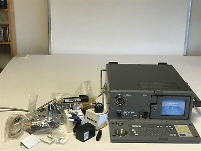 Olympus IW-2 Video Analyzer and Light Source for Borescope & accessories
